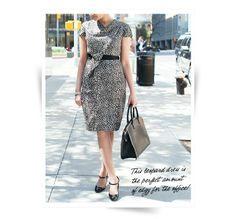 Professionelle: Paule Ka Leopard Print Dress