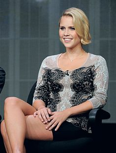 Claire Holt | The Vampire Diaries ~what, her hair! hmm.. glad she didn't change her color. but is that really cut??