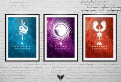DESTINY 2 all 3 new Subclass Posters - Fanart