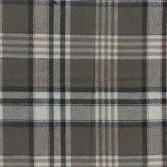 Flannel Shirtings Fabric- Brown & Tan Plaid