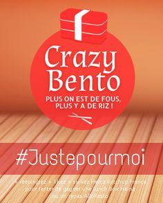 Réépinglez, likez et suivez Heinz Ketchup France pour tenter de gagner 1 Lunch Box Heinz ou 1 repas ALLORESTO !