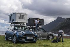 MINI Countryman Gets New, Special Edition Autohome Roof Tent - http://www.bmwblog.com/2017/05/02/mini-countryman-gets-new-special-edition-autohome-tent/