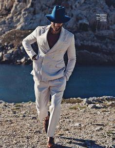 cool Elle France Men #2   Milan Krouzil by Stefano Galuzzi  [Editorial]