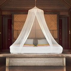 Posh Earth Hanging Mosquito Net for Beds  Bug  Insect Screen Canopy for Camping Glamping Baby  Boho Decor  Bonus Travel Gift Bag  Hanging Kit -- Details can be found by clicking on the image.
