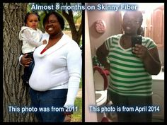 Lacrecia Is looking great!!!!  A picture is worth way more than a thousand words!!! I am proof that Skinny Fiber works!!!  Geez!! I was going through some more of my pictures and came across one of our family pictures from 2011. I bout came to tears when I seen my before picture! I know I'm big, but I was also in denial at that time. I didn't realize I was as big as I really was and this picture shows it!! This isn't even my heaviest!! My daughter, in the before picture was only a year and a…