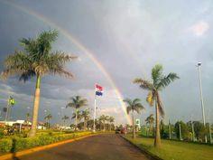 Regenbogen in Paraguay