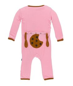 KicKee Pants Applique Coverall Aloe Wild Horses (0 - 3 Months)