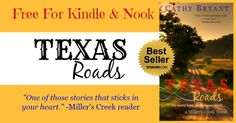 Hello, all! <3 Texas Roads <3 is Free! Christian contemporary romance ~ 4.6 stars with 216 reviews http://www.amazon.com/TEXAS-ROADS-Millers-Creek-Novel-ebook/dp/B00480OH1G/