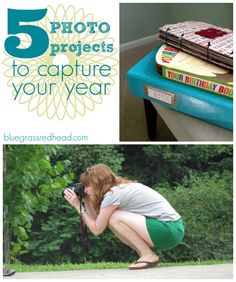 5 photo projects to capture your year — bluegrass redhead Photo Projects, Crafty Projects, Craft Activities For Kids, Crafts For Kids, Ali Edwards, Ordinary Day, M Photos, Pocket Scrapbooking, Project Life