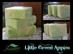 Green Apple Scented Soap