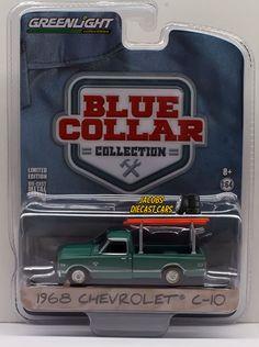 1:64 GREENLIGHT BLUE COLLAR COLLECTION SERIES 1 - 1968 CHEVROLET C-10 #GreenLight #Chevrolet