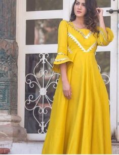 Ethnic designer gown Indian gown Indian dress Pakistani dress Pakistani suits Punjabi suits indian lehenga choli anarkali suits - Source by - Indian Long Dress, Indian Gowns Dresses, Dress Indian Style, Pakistani Dresses, Pakistani Suits, Punjabi Suits, Pakistani Frocks, Stylish Dresses For Girls, Stylish Dress Designs