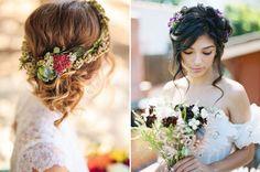 Tóc búi rối đẹp tự nhiên, lãng mạn cho cô dâu