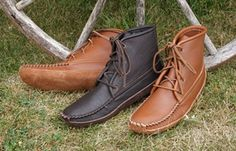 Men's Moccasin Boots