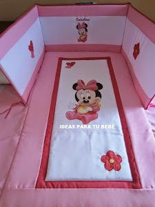Ideas que mejoran tu vida Baby Clothes Quilt, Sewing Baby Clothes, Baby Sewing, Baby Quilts, Minnie Mouse Theme Party, Disney Bedding, Baby Coat, Baby Bedroom, Baby Needs
