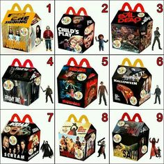 Happy Meal Horror Figures