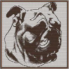 Bulldog 1 Dog LS  Pet Puppy Dog Machine Embroidery by Dave7867, $3.00