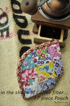 Idea to Sew. Cosmetic Bag Patchwork