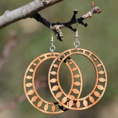 What is the first thing you notice on the host of Fixer Upper? You likely love all the Joanna Gaines Earrings - We found some earrings Inspired everyone's most loved TV Host. Wooden Earrings, Wooden Jewelry, Boho Earrings, Earrings Handmade, Diamond Earrings, Laser Cutter Ideas, Laser Cut Jewelry, Lazer Cut, Diy Schmuck