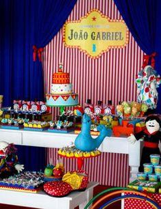 fiestas infantiles el fabuloso mundo del circo8 Fiesta de Cumpleaños inspirada en el circo