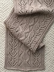 Ravelry: The Fiona Wide Scarf or Wrap pattern by Donna Brooks