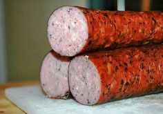 The photo - Кулинария - Wurst Healthy Cooking, Cooking Recipes, Pork Shoulder Roast, Food Club, Kielbasa, Meat Chickens, Chicken Sausage, Russian Recipes, Smoking Meat