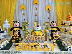 festa da abelhinha 1 ano - Pesquisa Google