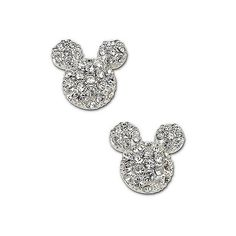Disney Couture Mickey Mouse Stud Earrings ($40) ❤ liked on Polyvore featuring jewelry, earrings, disney, mickey, studs, stud earrings, mickey mouse earrings, stud earring set, mickey mouse jewelry and studded jewelry