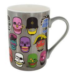 Mug Schluck Kurukafa Cadeau Design, Micro Onde, Mugs, Tableware, Products, Electric Kettles, Vacuum Flask, Porcelain, Dinnerware