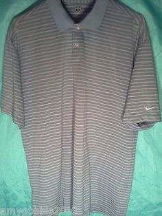 Mens Nike Golf Polo Shirt,Fit Dry.Free Priority Shipping!!