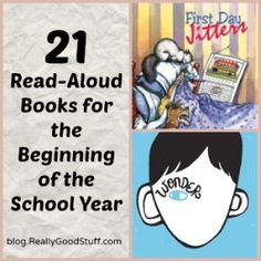 21 Read-Aloud Books for the Beginning of the School Year | Teacher's Lounge Blog | Really Good Stuff®