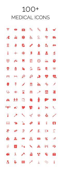 100 Medical Icons - Creative VIP                                                                                                                                                                                 Plus