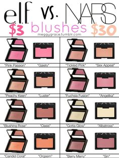 + None of these are exact dupes, but you can definitely get the same effect with these + (