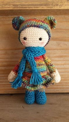 1000+ images about DIY Haken amigurumi dolls on Pinterest ...