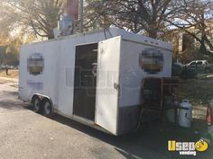 New Listing: https://www.usedvending.com/i/2010-8.5-x-20-Food-Concession-Trailer-for-Sale-in-Tennessee-/TN-P-273X 2010 - 8.5' x 20' Food Concession Trailer for Sale in Tennessee!!!