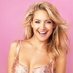 5. Kate Hudson Age: 36 Profession: Actress Kate is the daughter of Bill Hudson and famous actress Goldie Hawn, although she considers Kurt Russell to be her real father. Growing up in Hollywood, there was little doubt the blonde beauty would become anything but an entertainer. You've probably seen a million of her romantic comedies, but Hudson is also an entrepreneur, having developed her own fitness brand called Fabletics.