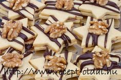 Hungarian Desserts, Hungarian Recipes, Christmas Goodies, Christmas Ideas, Cookie Exchange, Cake Table, Nutella, Sweet Recipes, Dessert Recipes