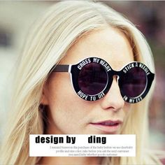 New Fashion Brand Designer Funny Oversized Round Sunglasses Unisex Cross My Heart Sunglasses Holland House punk sun glasses-in Sunglasses from Women's Clothing & Accessories on Aliexpress.com   Alibaba Group