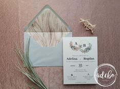 Invitatie nunta Reed Grass
