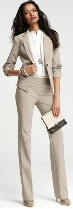 Chic Professional Woman Work Outfit. Business attire always speaks volumes