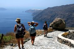 Fira to Oia hike in Santorini - http://www.tripadvisor.ca/Attraction_Review-g189433-d2368798-Reviews-Hiking_Trail_Fira_Oia-Santorini_Cyclades.html
