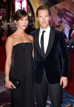 """""""Sophie loves me and is proud of my work. That's what counts. We are meant for each other and simply fit together. That is why she has no problems with the trapping. She is a very confident woman. I'm really lucky."""" — Benedict Cumberbatch, when asked whether his wife Sophie is jealous of the attention he recieves from his female fans"""
