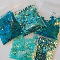 Glitter Crafts, Loose Glitter, Glitter Nail Polish, Aesthetic Makeup, Teal, Aesthetics, Dots, Shapes, Texture