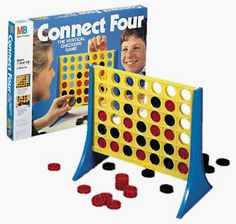 "If I lost, I usually tried to convince my opponent that the game was really called, ""Connect Five or Six, but they didn't think babies like you could count that high..."" Then it was on like Donkey Kong."