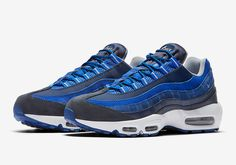innovative design 58f21 0aa8d  sneakers  news Multiple Blue Tones Hit The Nike Air Max 95 Cool Trainers,