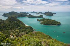 Parque Natural de Ang Thong, Tailandia