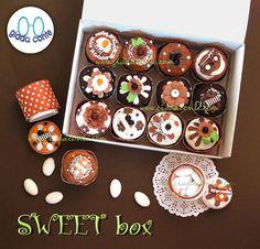 SWEET FAVOR BOX  scatoline a forma di dolcetti e pasticcini