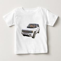 White Ranger Car Baby T-Shirt - tap, personalize, buy right now! Ranger Car, Car Themes, Stylish Baby, Baby Shirts, Baby Car, Cars, Mens Tops, T Shirt, Stuff To Buy