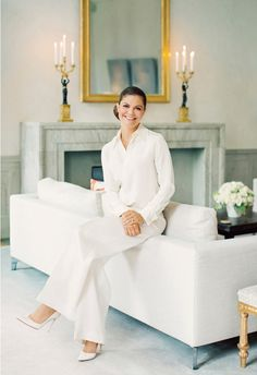 Crown Princess Victoria of Sweden poses ahead of her birthday. Photo: Erika Gerdemark, The Royal Court, Sweden Princess Victoria Of Sweden, Crown Princess Victoria, Crown Princess Mary, Estilo Jackie Kennedy, Queen Of Sweden, Sweden Fashion, Style Royal, Victoria Fashion, Kroonprinses Victoria