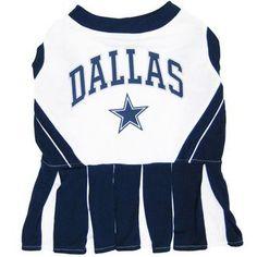 Dallas Cowboys NFL Football Pet Cheerleader Outfit